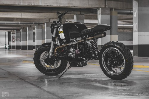 Dirty 30: Bolt Motor Co.'s BMW street scrambler
