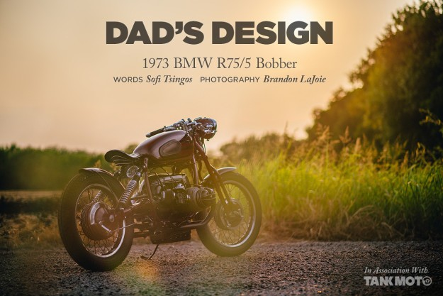 A 1973 BMW Bobber With A Story To Tell