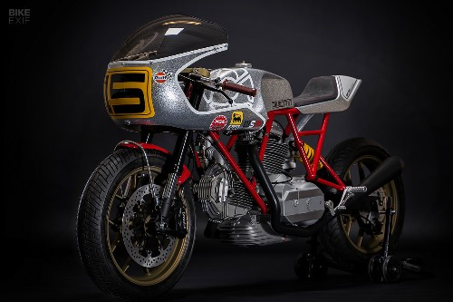 Hip To Be Square: Walt Siegl tackles the bevel Ducati