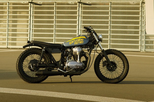 A Cheeky W650 from Gentlemen's Factory
