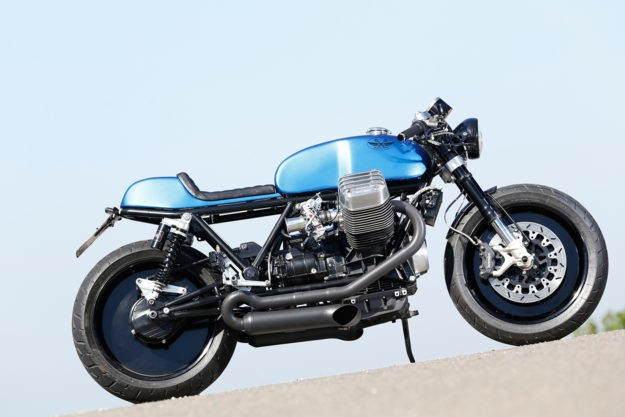 The Real Deal: Radical Guzzi's 130 hp cafe racer