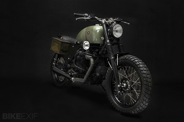 Moto Guzzi NTX by Venier Customs
