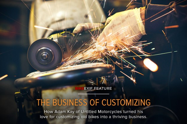 The Business of Customizing Old Motorcycles