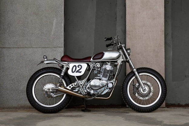 Small but perfectly formed: 2LOUD's Suzuki TU250