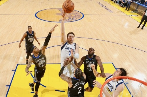How Luka Doncic Gets Buckets Where NBA Giants Usually Dominate