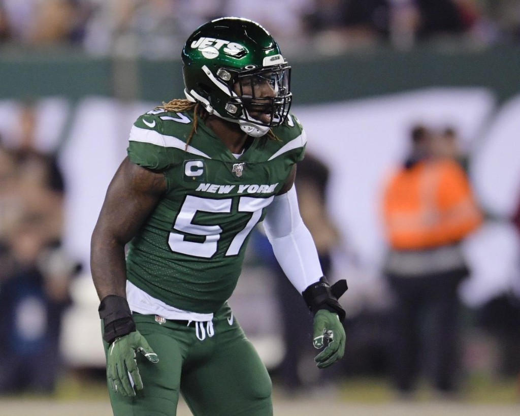 Jets' C.J. Mosley Explains Opting Out of 2020 NFL Season over Concerns About Son