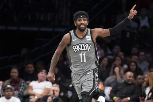 Kyrie Irving Scores 22 in Nets Win vs. James Harden, Rockets; Westbrook Drops 27