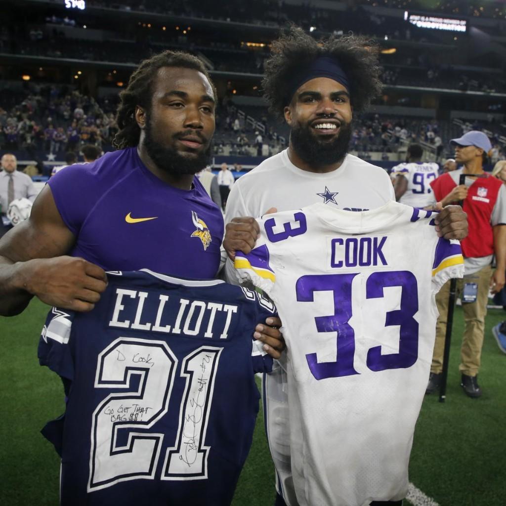 Dalvin Cook Would 'Be Better Than' Ezekiel Elliott with Cowboys, Says NFC Exec