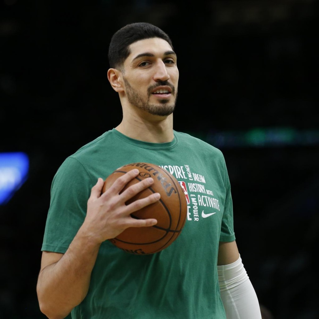 Celtics' Enes Kanter Talks NBA Bubble, GOAT, Russell Westbrook in B/R AMA