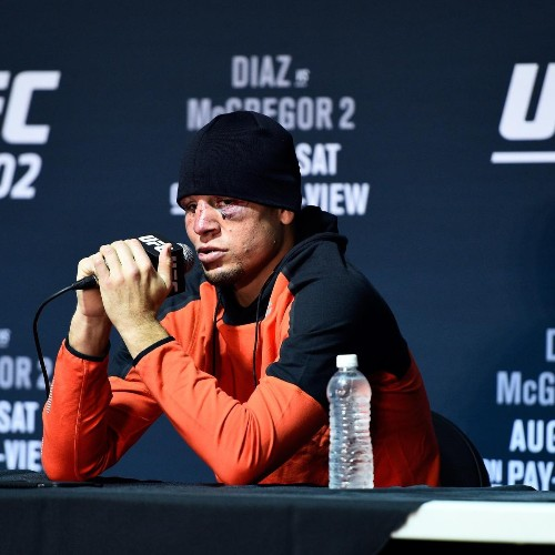 Nate Diaz Talks Eddie Alvarez vs. Conor McGregor, Dana White Ahead of UFC 205