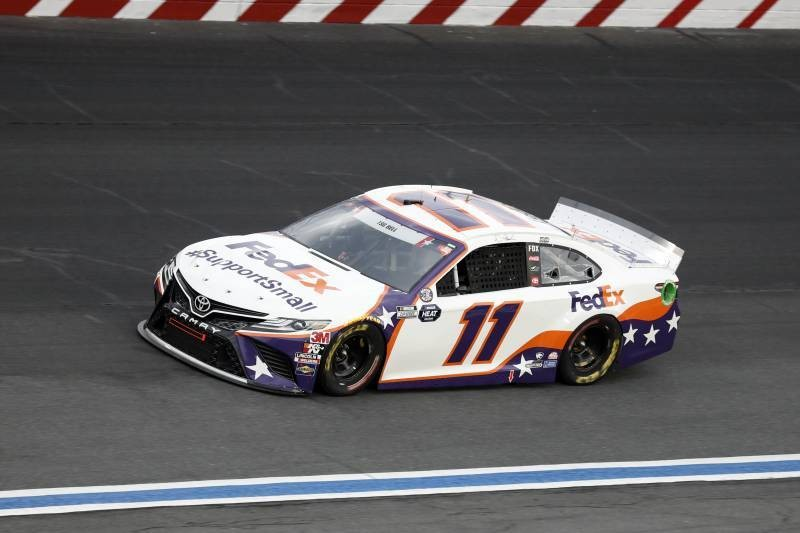 NASCAR's Denny Hamlin's Crew Chief Faces 4-Race Suspension for Tungsten Issue