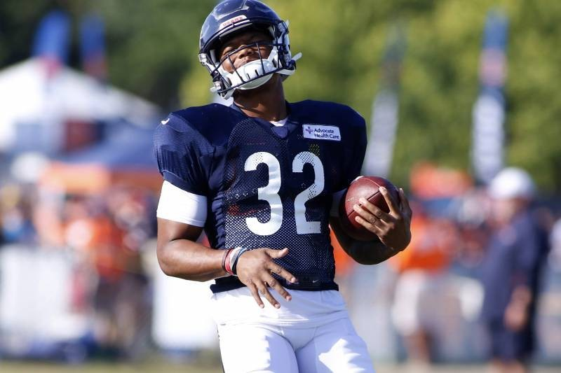 Fantasy Alert: Bears 'Pinching' Themselves over RB David Montgomery