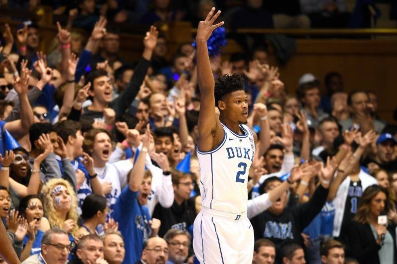 Zion Williamson Dominates with 29 Points as RJ Barrett, Duke Rout St. John's