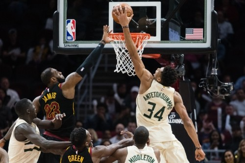 Giannis: 'Feels Weird' to Work Out with Rivals; Rejected Carmelo, LeBron Invites