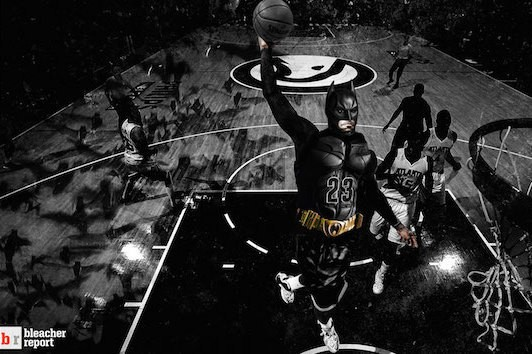 LeBron James Says He Would Like to Play Batman in a Movie