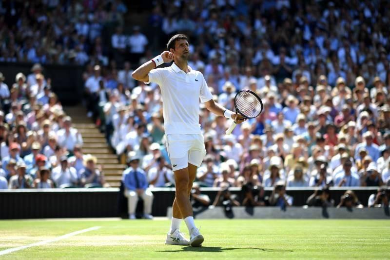 Novak Djokovic Moves into Wimbledon Final with Win over Roberto Bautista Agut