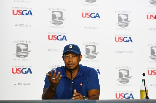 Watch Tiger Woods Talk 'Sad' Kevin Durant Injury, Long Road to Recovery