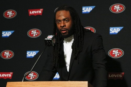 49ers' Richard Sherman Says He Wants Fair Pay to Play Law to 'Destroy the NCAA'