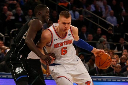 Mark Cuban: Kristaps Porzingis Likely to Miss Entire Season with ACL Injury