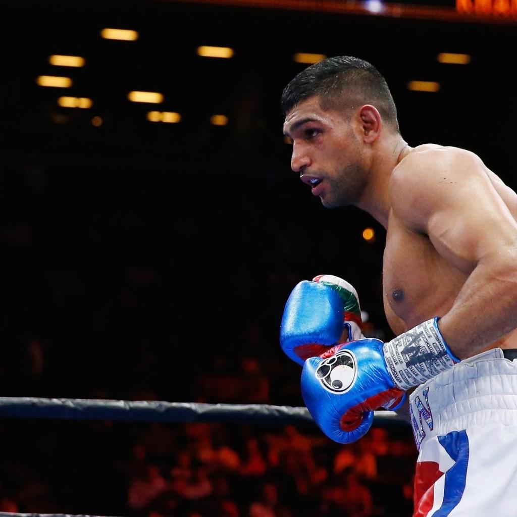 Amir Khan Dealt Manny Pacquiao Blow, Eddie Hearn Tells Brit to Fight Kell Brook
