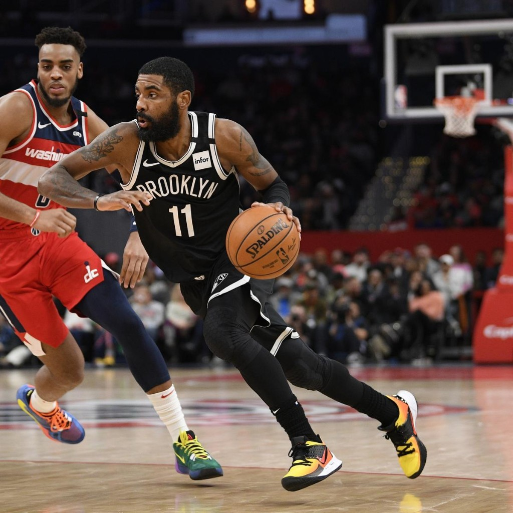 Kyrie Irving Rumors: Nets PG Won't Return from Shoulder Injury in Orlando