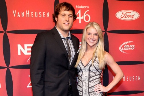 Lions' Matthew Stafford's Wife Kelly Provides Update After 12-Hour Brain Surgery