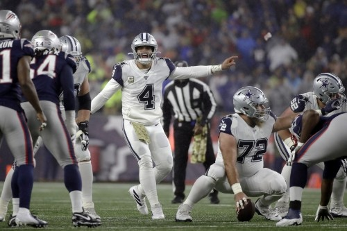 Report: NFL Informed Cowboys Tripping Penalties vs. Patriots Were Incorrect