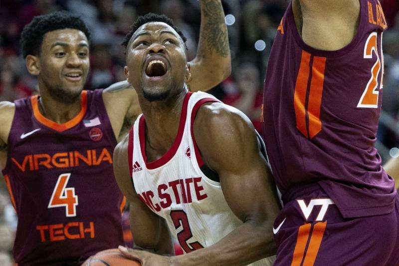 NC State Scores 24 Points in Loss to VT, Fewest by Ranked Team in Shot-Clock Era