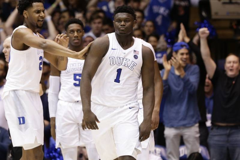 Duke's Zion Williamson Talks NBA Fans Recruiting Him, Says He'll Play Anywhere