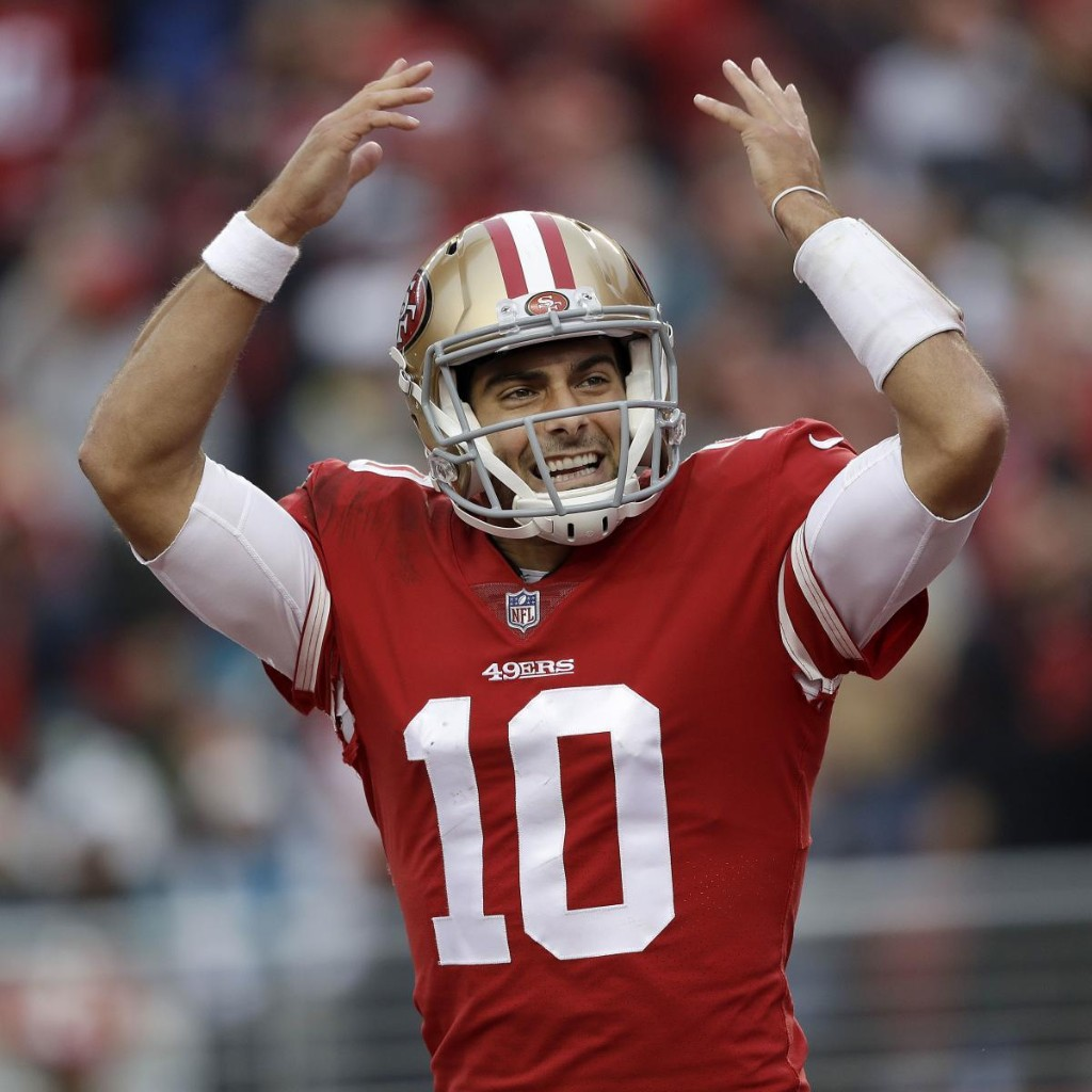 Report: Jimmy Garoppolo, 49ers to Talk Contract, Could Be Given Franchise Tag