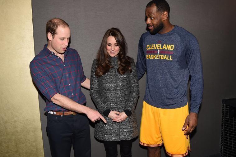 LeBron James Meets Duchess of Cambridge Kate Middleton, Breaks Royal Protocol