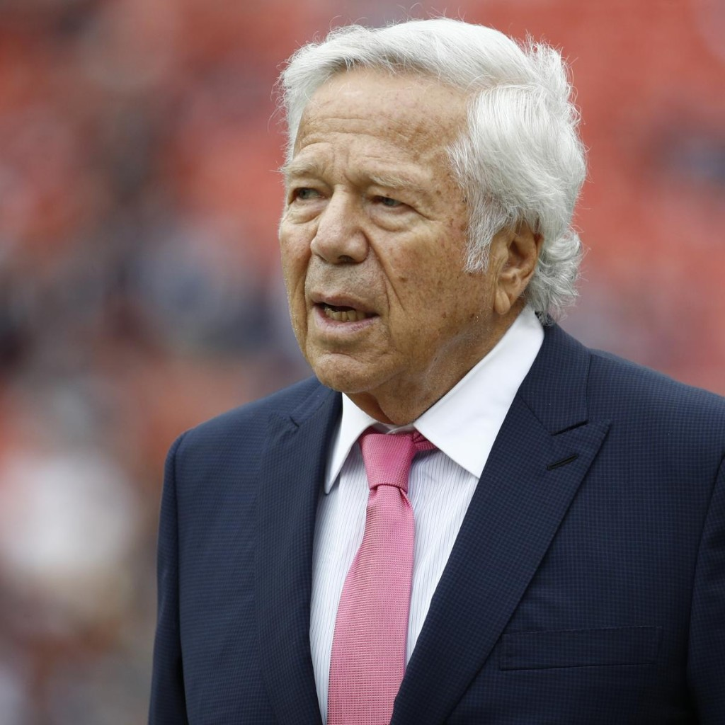 Kraft Family Collaborating with Patriots Players on $1M Pledge to Aid Equality