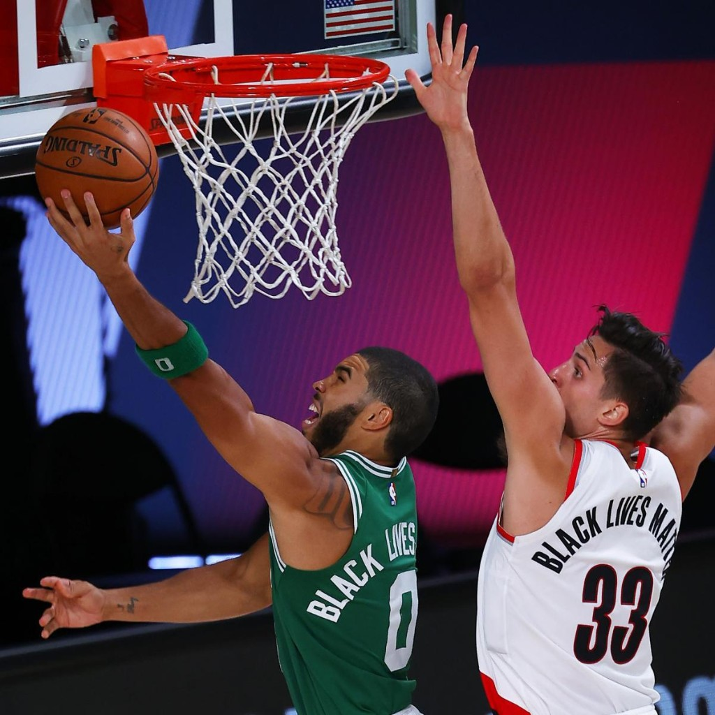 Jayson Tatum, Celtics Hold Off Dramatic Rally by Damian Lillard, Blazers for Win