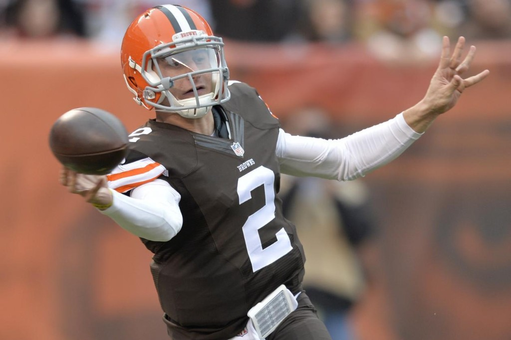 Manziel Struggles in Browns' Loss to Cincy