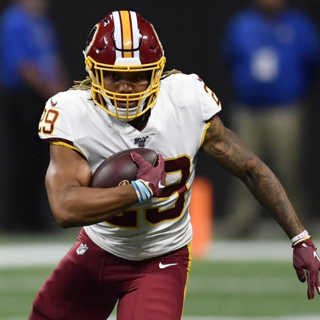 Derrius Guice Released by Washington NFL Team After Domestic Violence Arrest