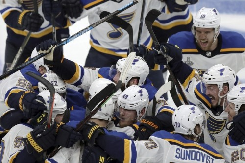Carl Gunnarsson Gives Blues 1st Stanley Cup Final Win in Game 2 vs. Bruins