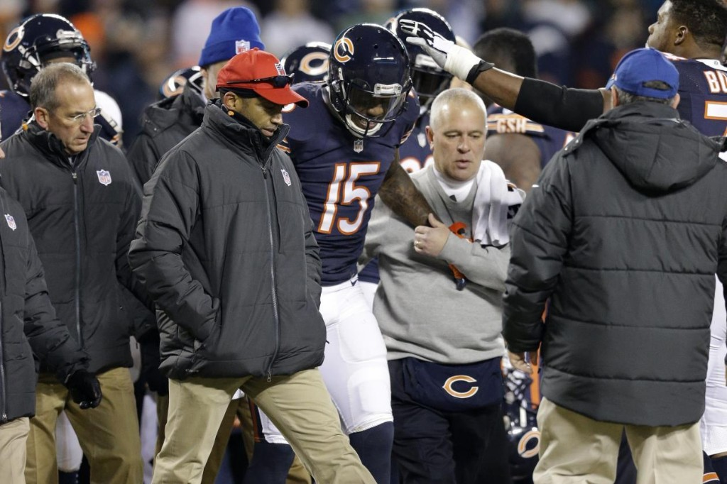 Brandon Marshall Reportedly Out for Season with Rib, Lung Injuries