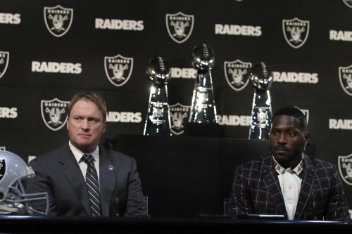 Watch Antonio Brown's Video of Recorded Jon Gruden Call Amid Raiders Drama