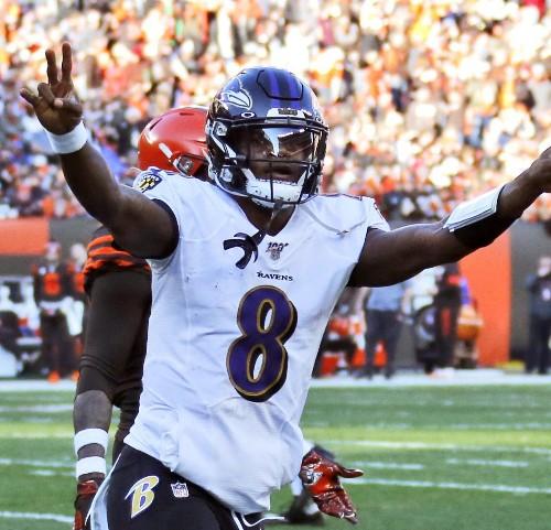 Lamar Jackson Unanimously Wins 2019 NFL MVP over Russell Wilson, Patrick Mahomes