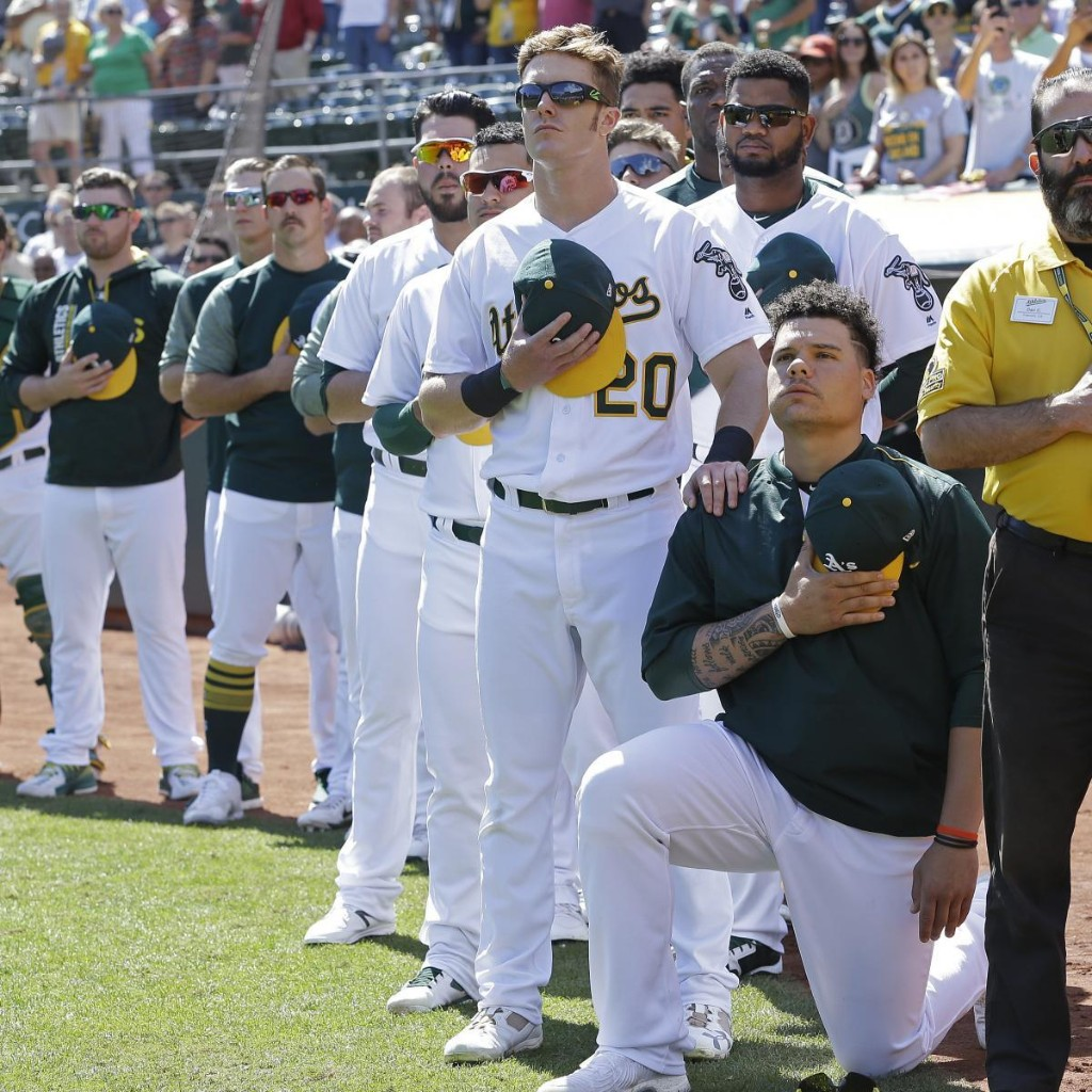 Former A's Catcher Bruce Maxwell 'Not Surprised' MLB Didn't Support His Protest