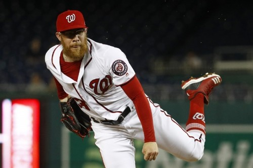 Cubs Play Game vs. Nationals Under Protest over Sean Doolittle's Pitch Delivery