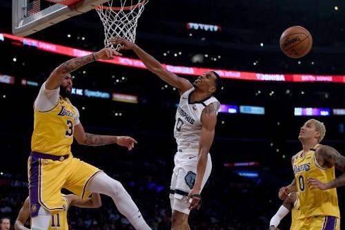 LeBron James, Anthony Davis Dominate as Lakers Silence Ja Morant, Grizzlies