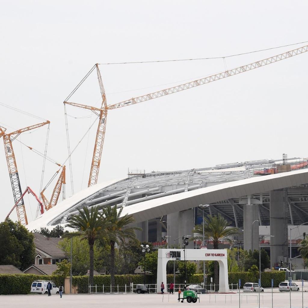 Report: 25 Total SoFi Stadium Workers Have Tested Positive for the Coronavirus