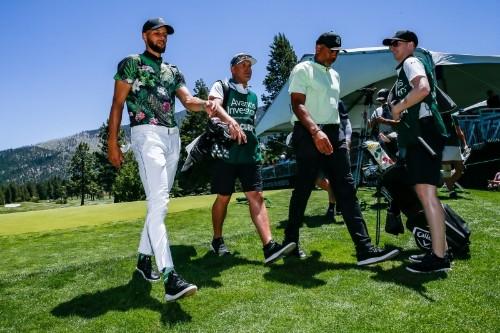 Warriors' Stephen Curry Sponsors Golf Team at Howard University