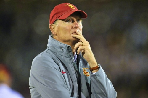 Pac-12 to Investigate Pat Haden Sideline Incident in USC-Stanford Game