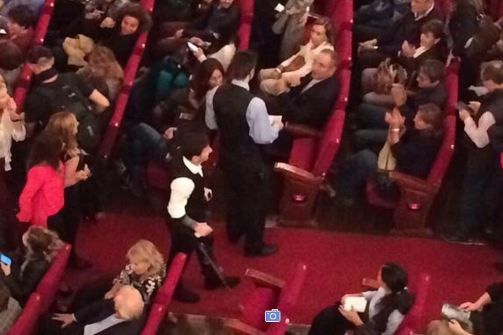 Lionel Messi Goes to the Theatre with His Family, Gets Applauded by the Audience