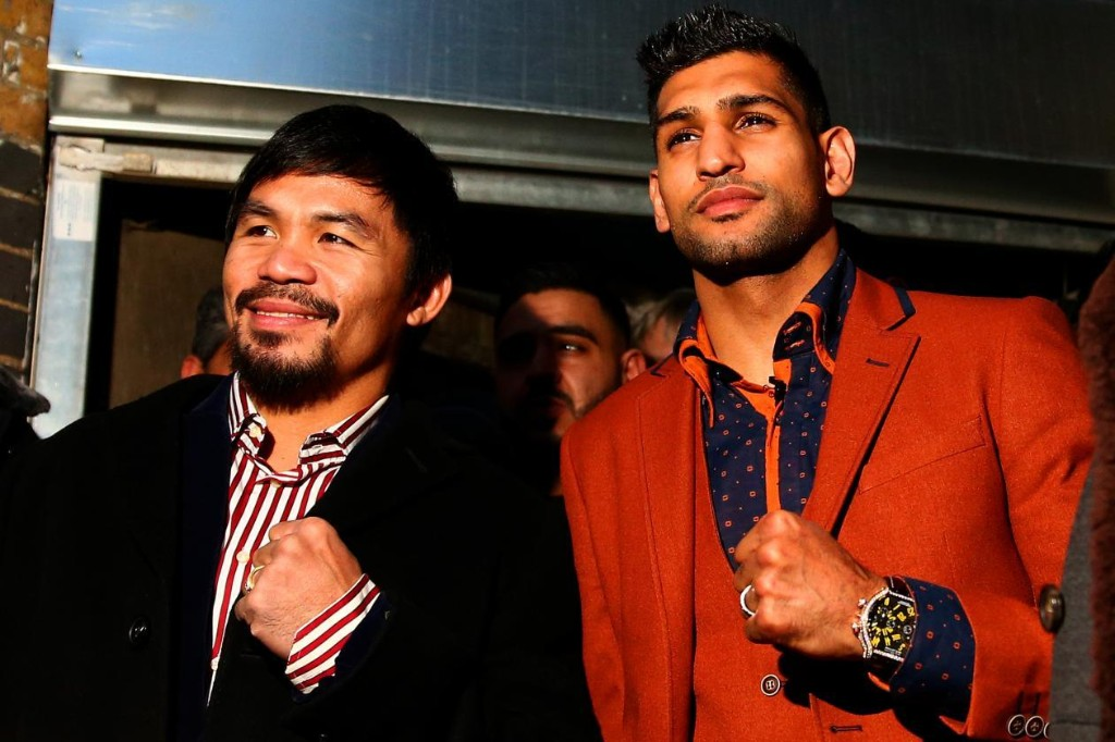 Manny Pacquiao Will Face Amir Khan, Floyd Mayweather Bout a Farce, Says Bob Arum