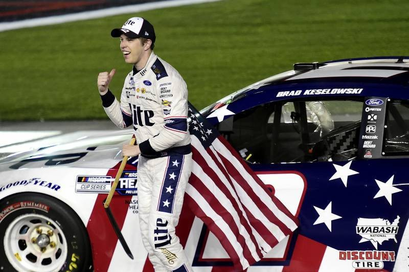 NASCAR at Charlotte 2020 Results: Brad Keselowski Captures Victory in Overtime