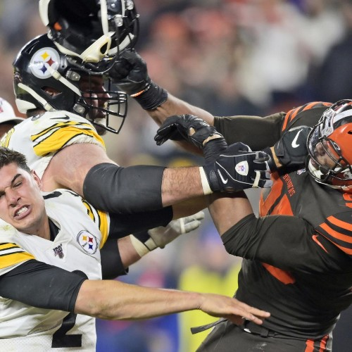 NFL Must Suspend Myles Garrett for Rest of Season After Brutal On-Field Fight