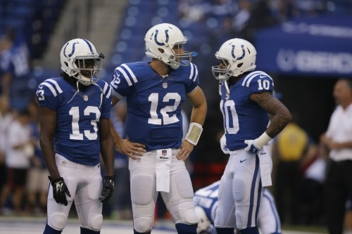 Andrew Luck, T.Y. Hilton, Donte Moncrief Post-Week 2 Fantasy Advice